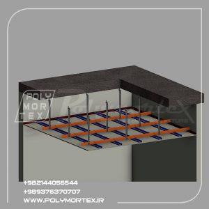 سقفهاي کاذب یکپارچه داراي سازه مستقل نگه دارنده ( bars-T (به همراه تجهیزات روشنایی و مکانیکی